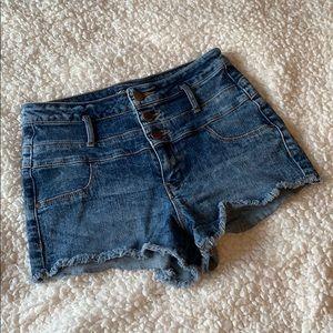💝3/$15 Refuge high waisted jean shorts